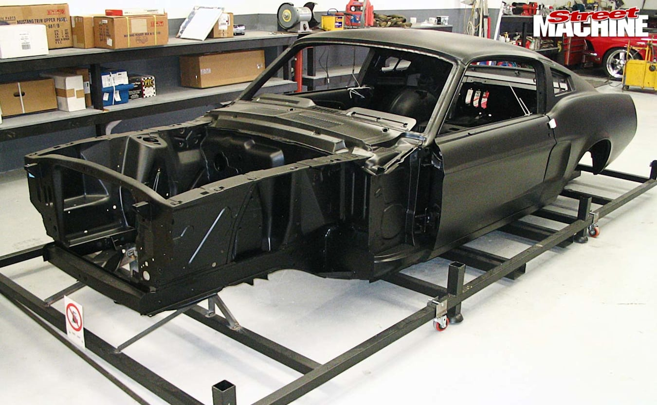 Ford Mustang fastback build