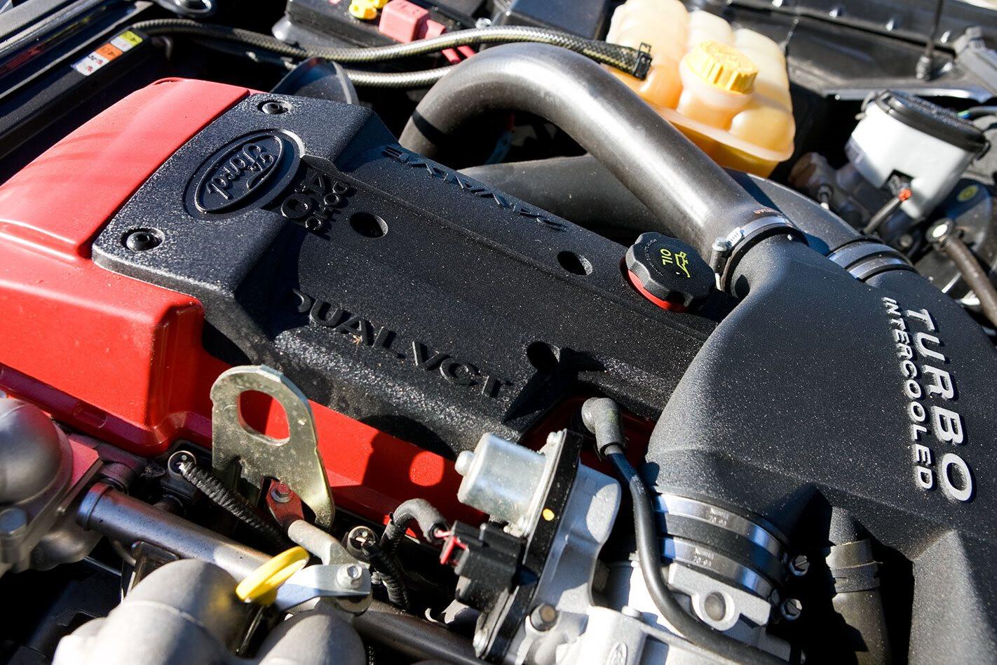 Ford Falcon XR6 Turbo engine