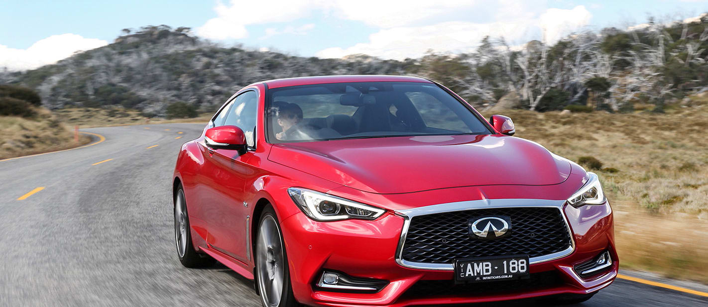 2017 Infiniti Q60 Red Sport quick review