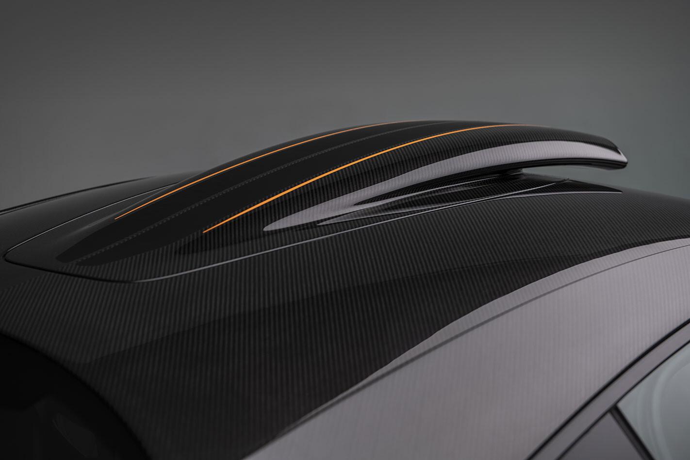 McLaren 600LT roof scoop