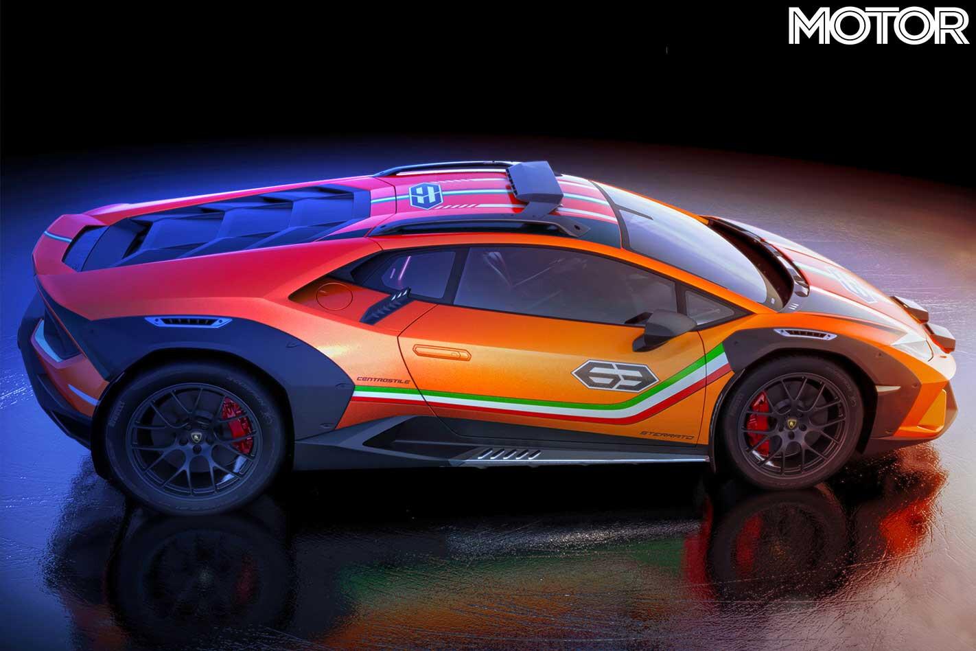 Lamborghini Huracan Sterrato Side Profile Studio Jpg