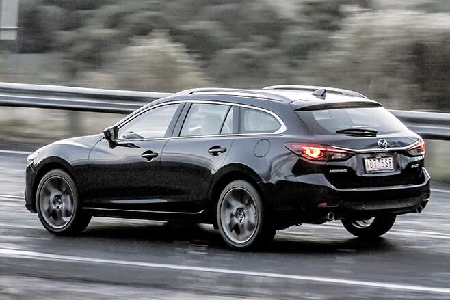 Mazda -6-gt -rear