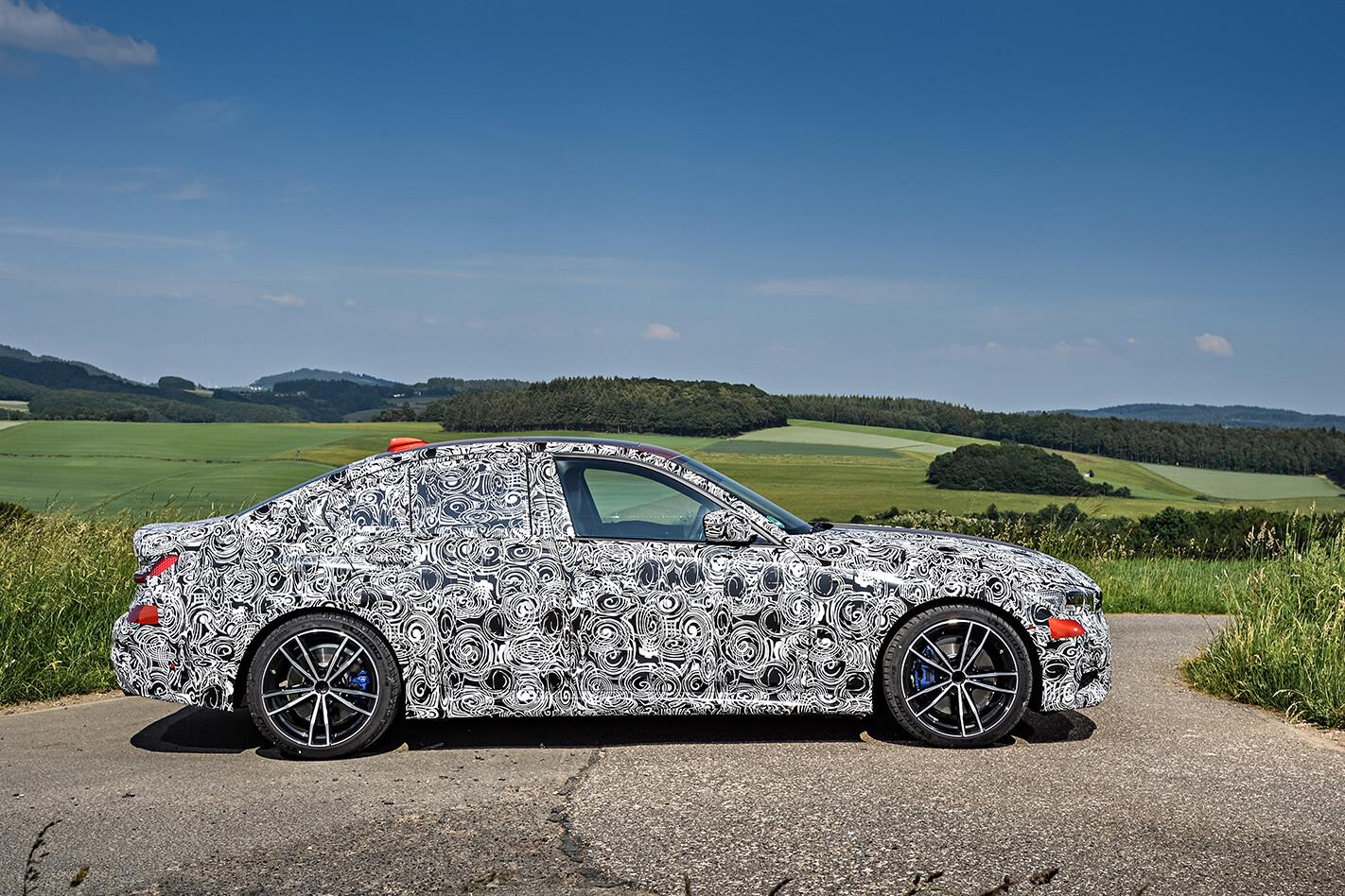 BMW 3 Series prototype side