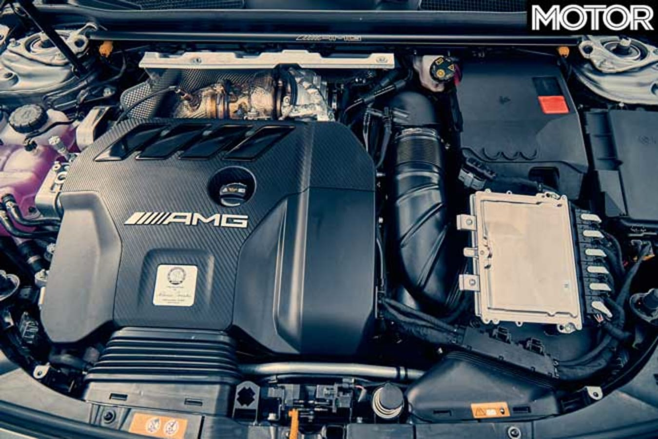 Mercedes AMG A 45 S Engine Jpg
