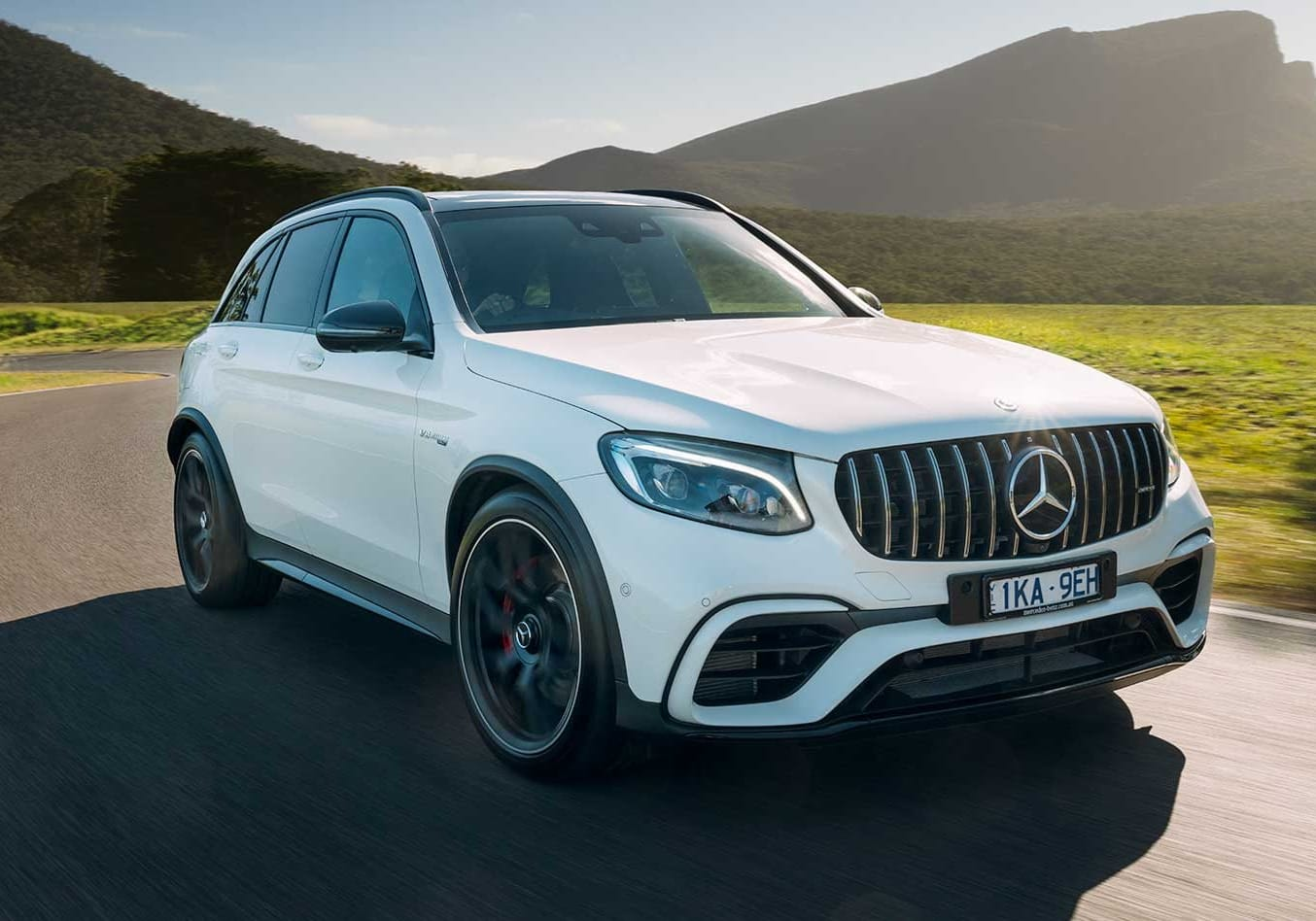 2018 Mercedes AMG GLC63 S performance review