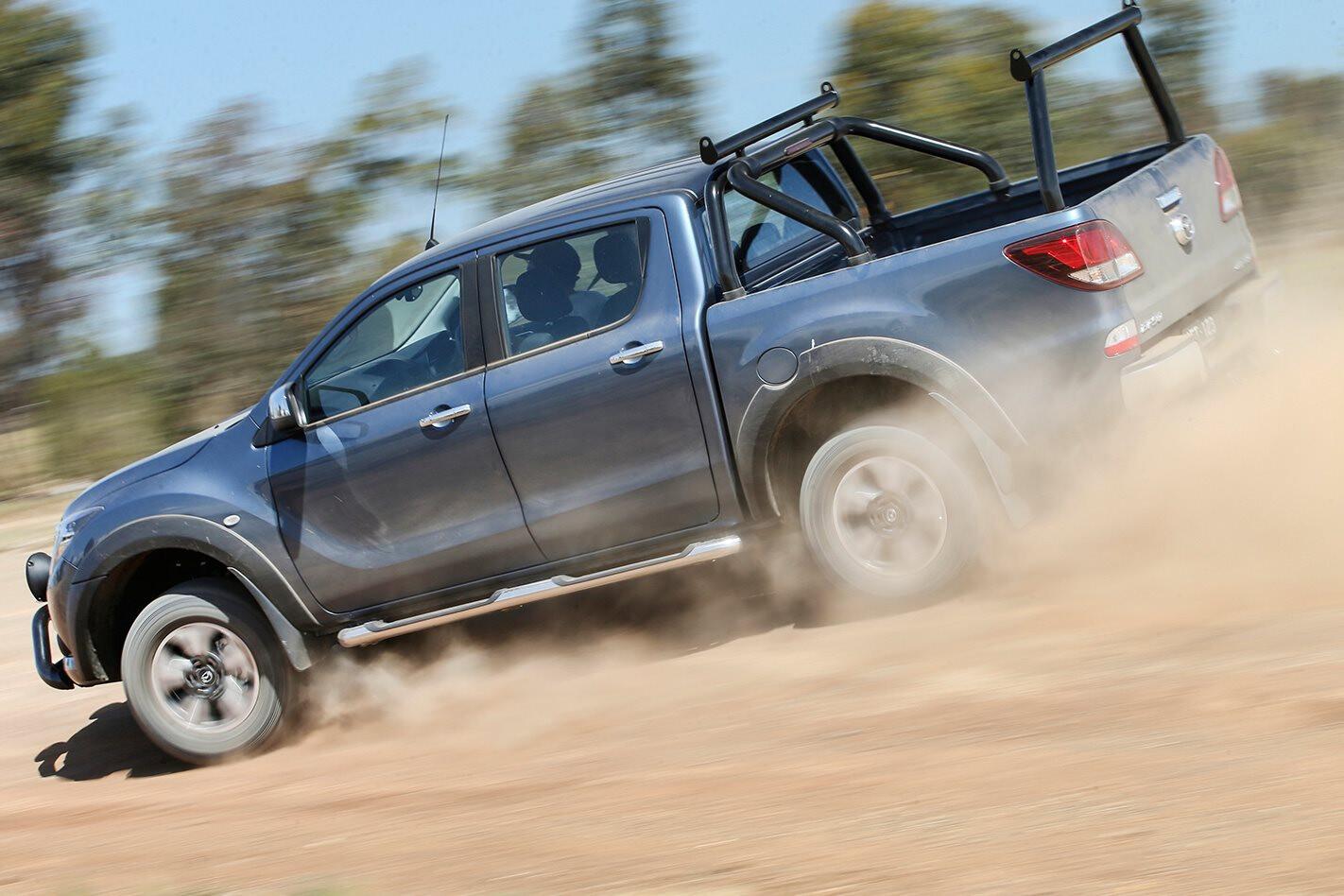 Mazda BT 50 Side Driving Dirt Jpg