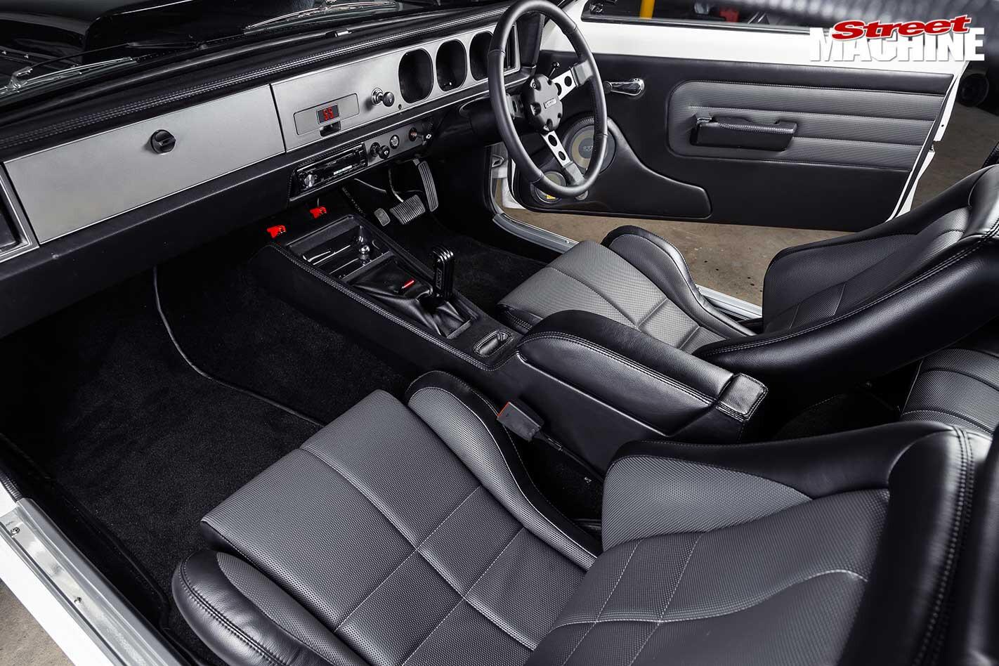 Holden Torana LX SS hatch interior