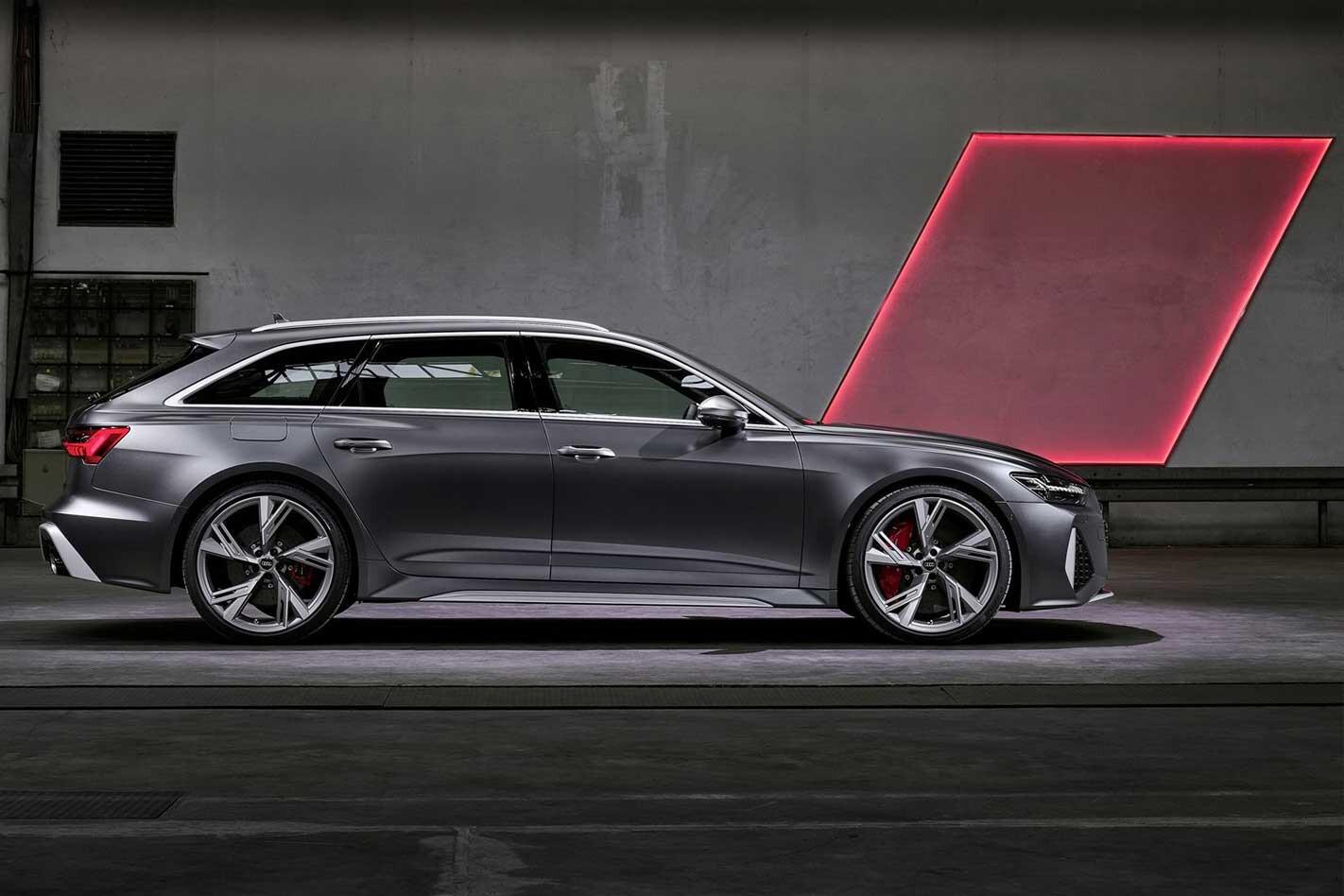 Audi RS 6 Details Side Profile Jpg