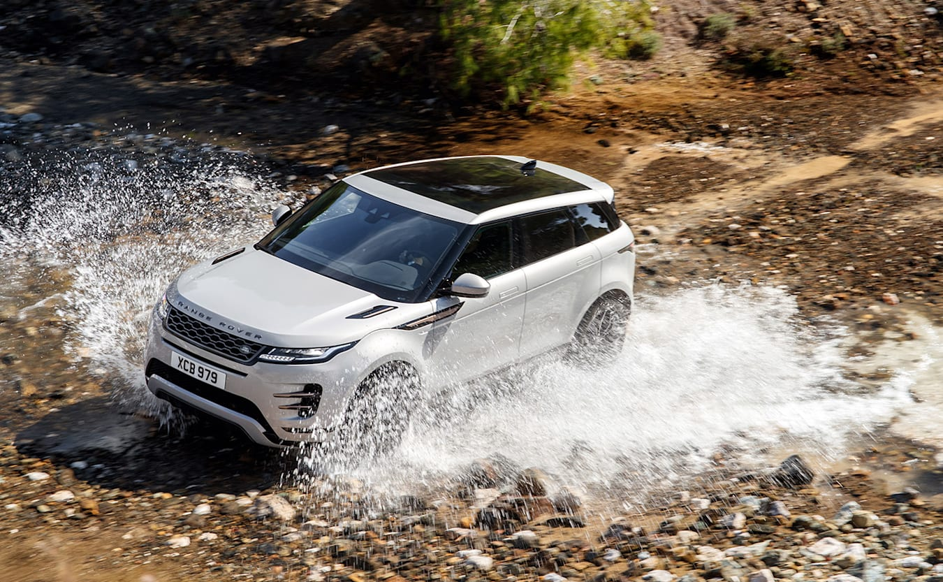 range rover evoque splash