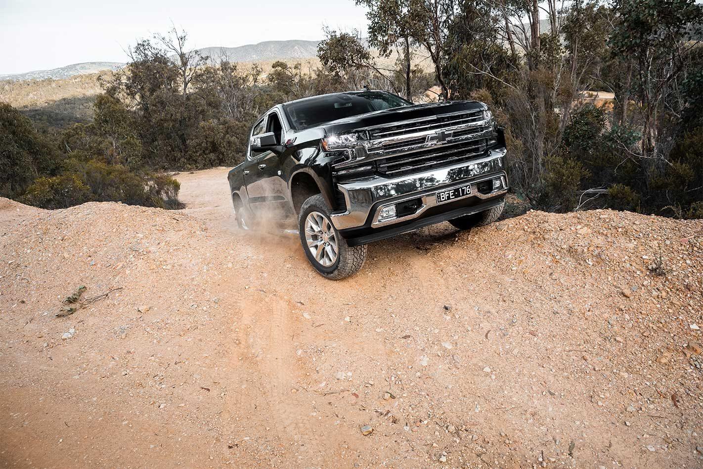 Chevrolet Silverado 1500 LTZ offroad review