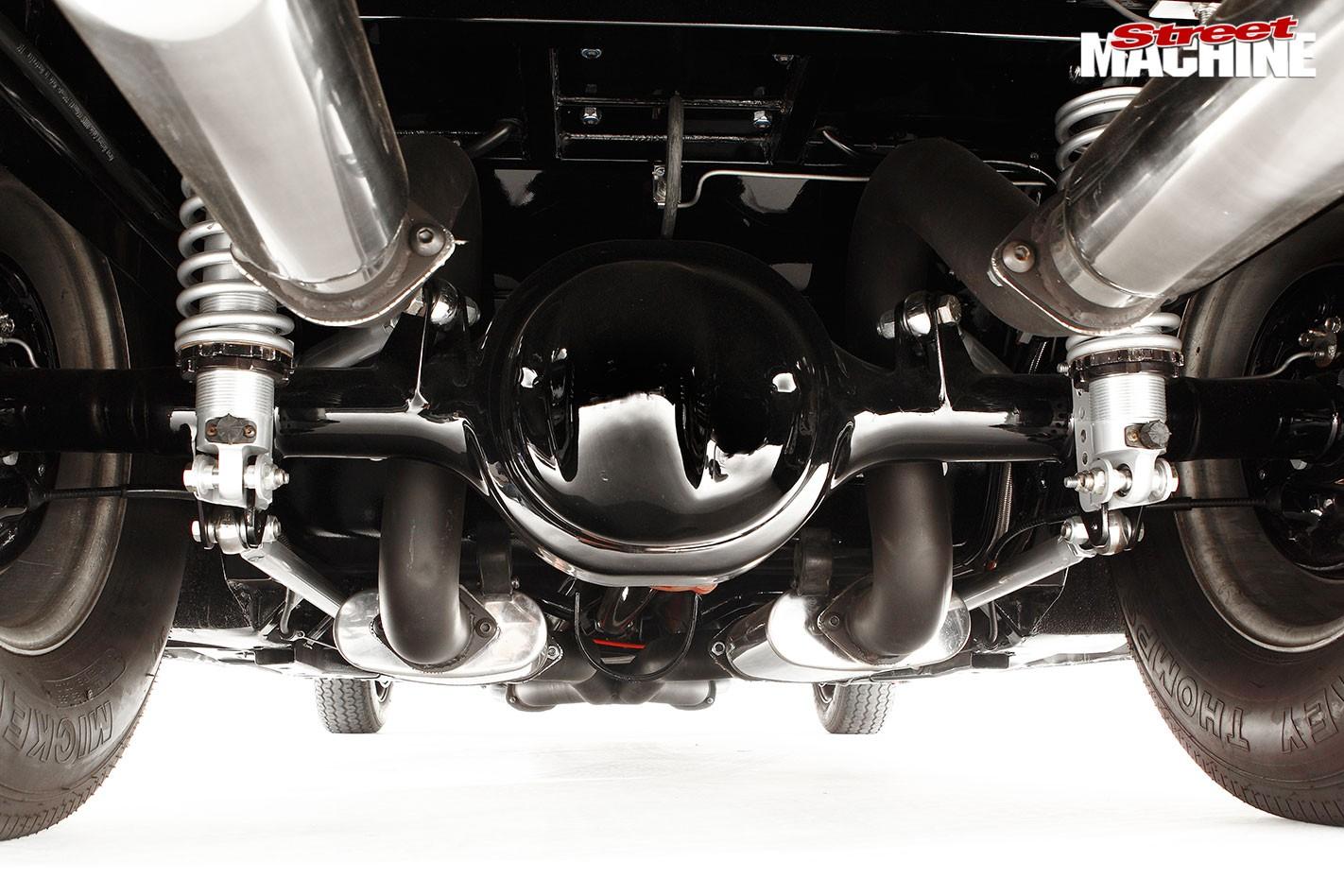 Ford XD Falcon underside