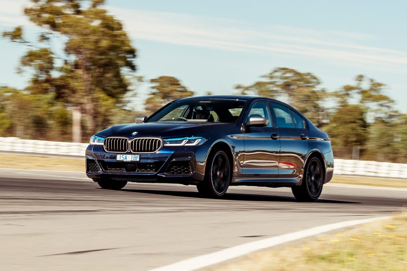 2020 BMW M550i review