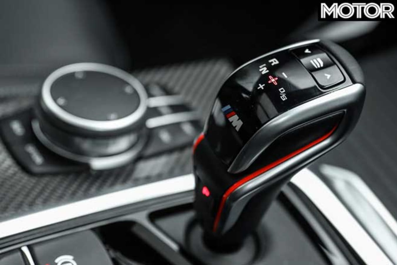 BMW X 3 M Competition Gearshifter Jpg