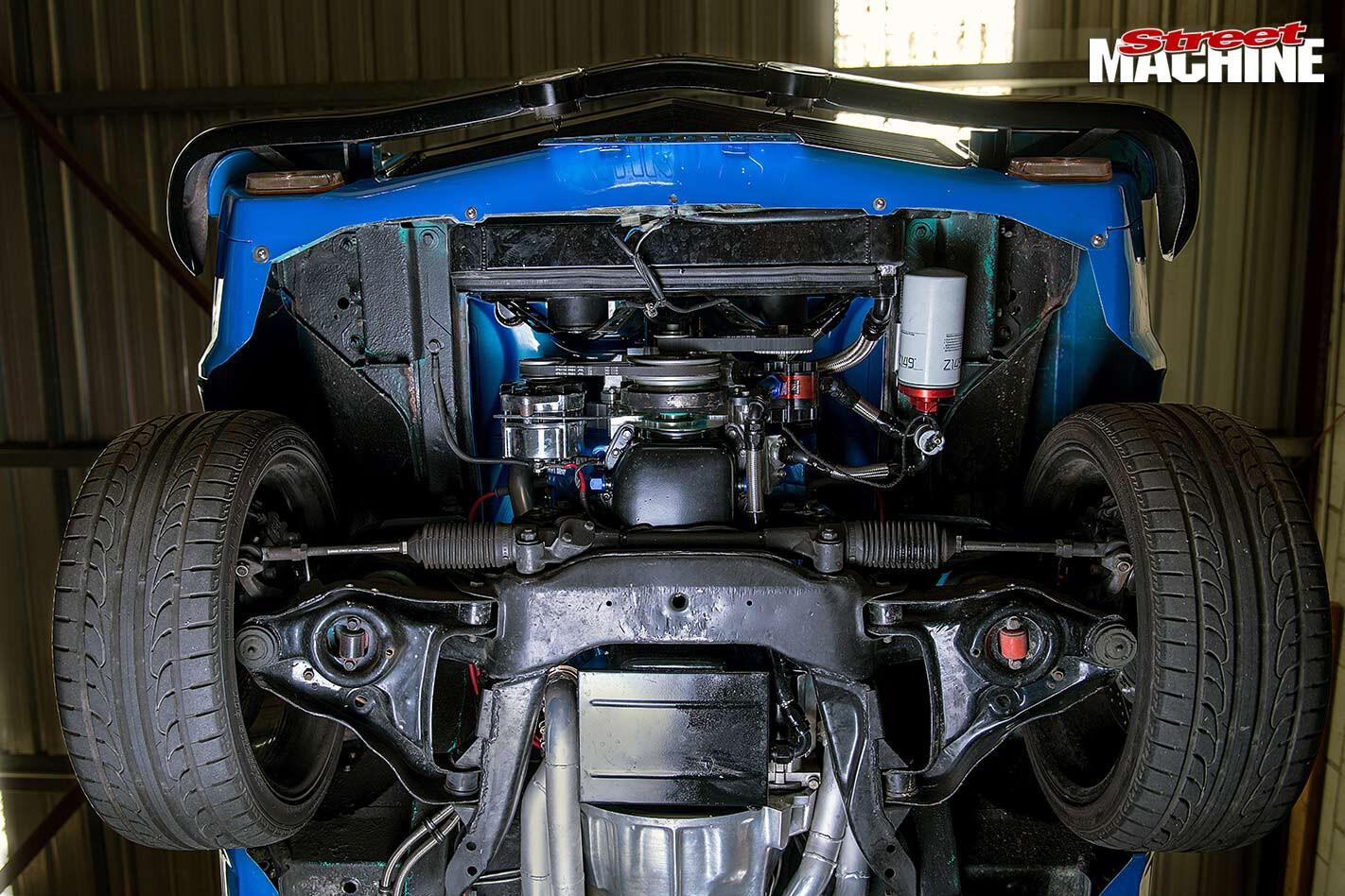 Holden Torana hatch underside