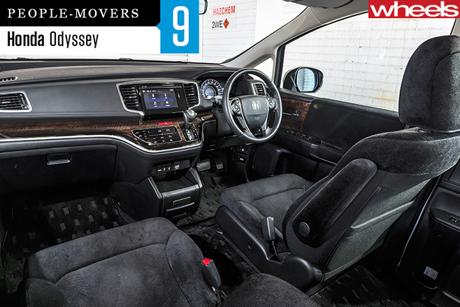 Honda -Odyssey -interior