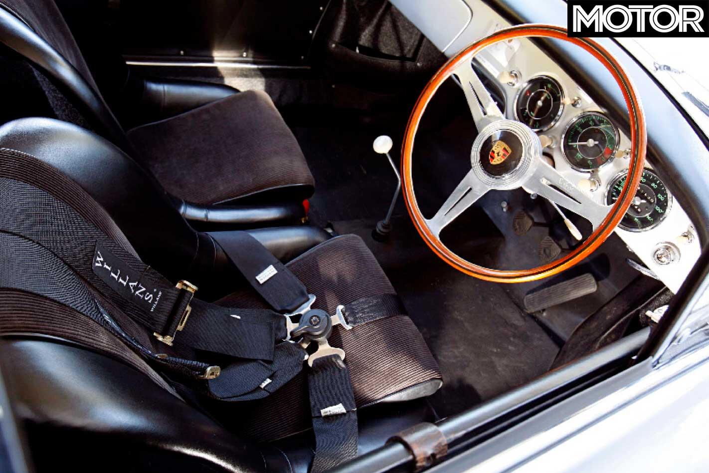 1958 Porsche 356 Carrera GT Interior Jpg