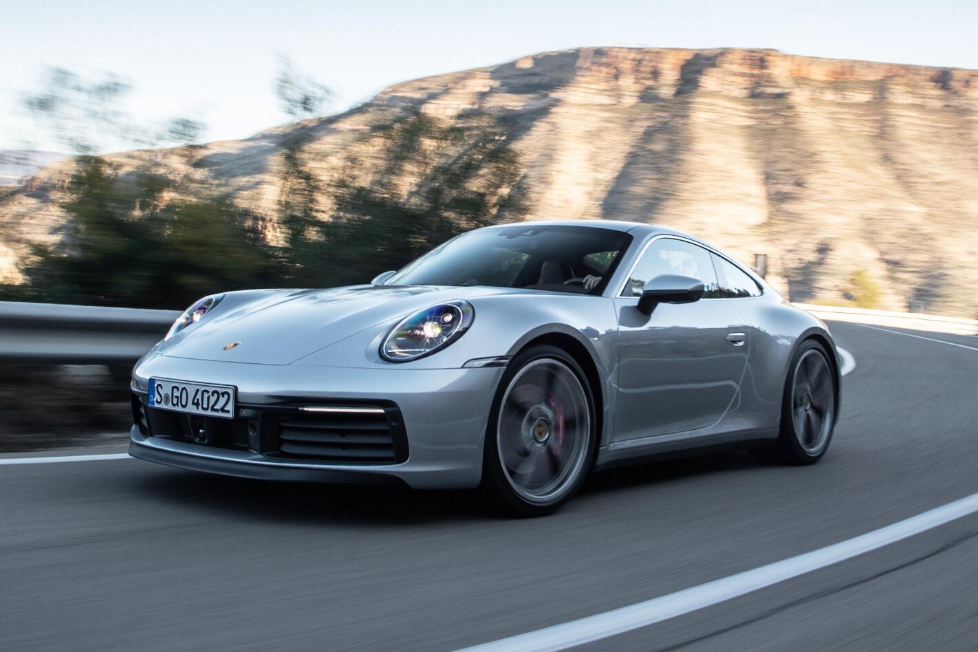 Porsche 911 Carrera S Front Jpg