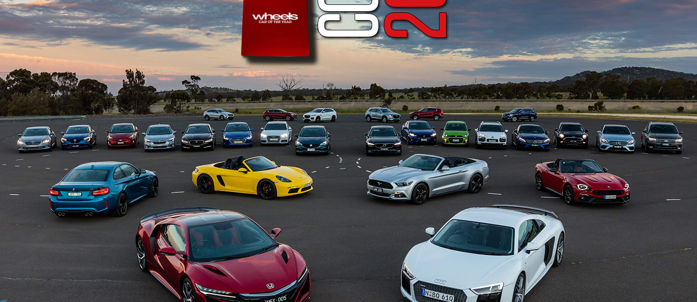 Behind the Scenes at 2017 Wheels Car of the Year
