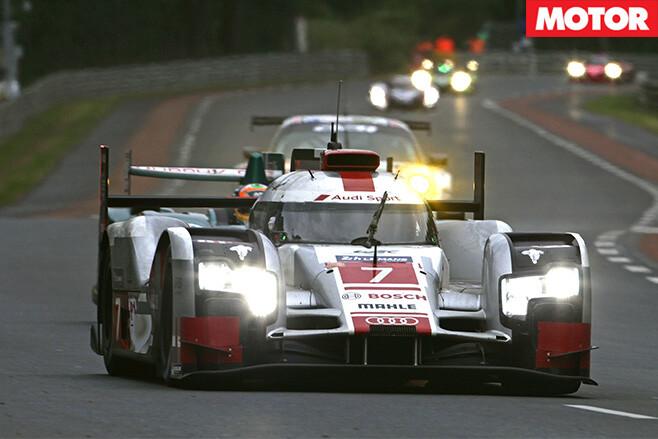Audi LMP1 car