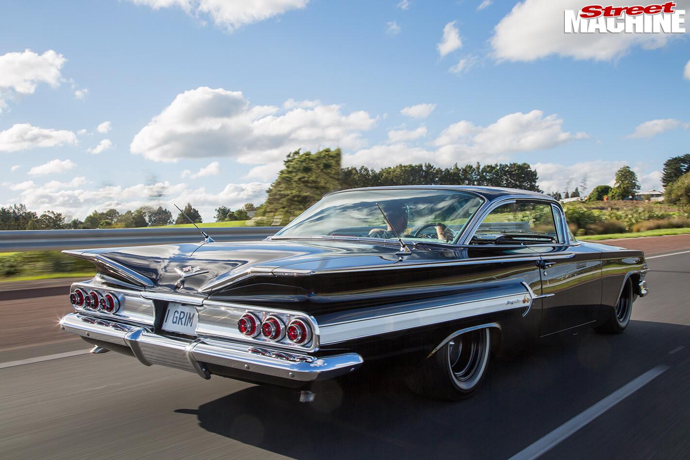 Chevrolet -impala -onroad -rear
