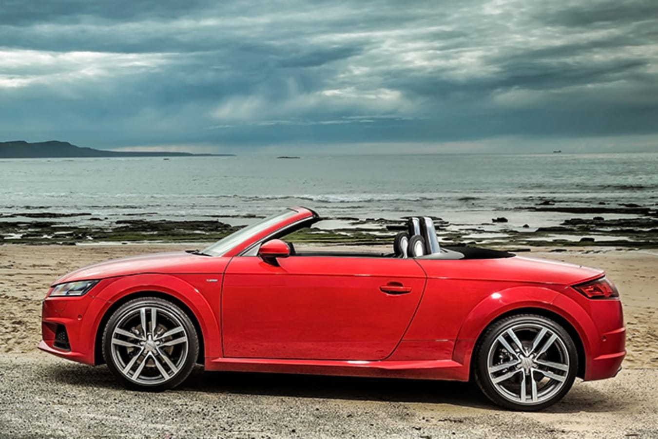 Audi TT Side Parked