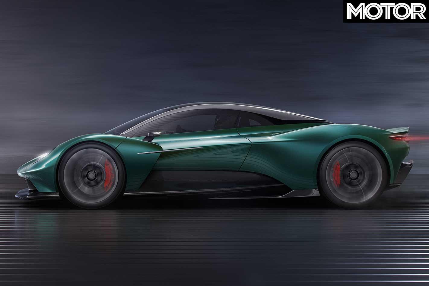 Aston Martin Vanquish Side Profile Jpg