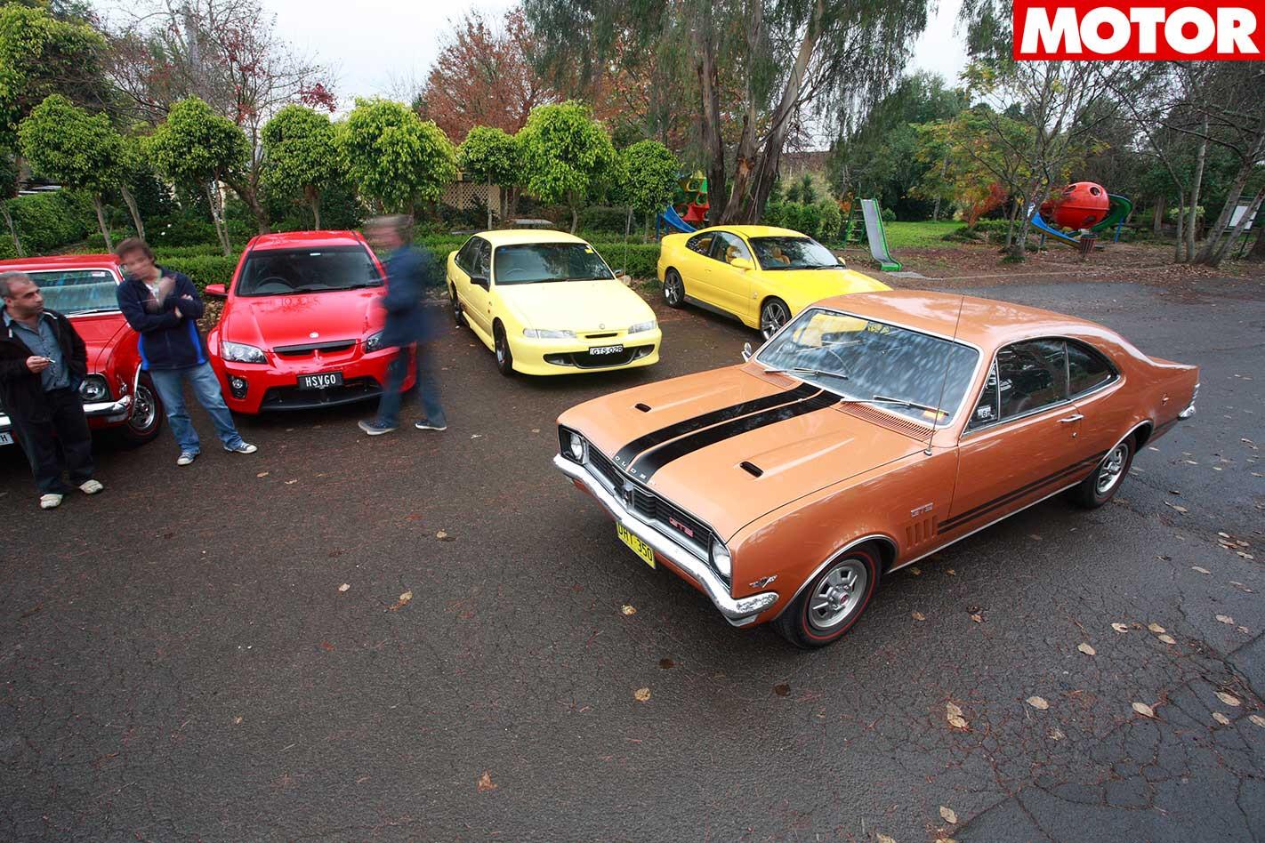 40 Years Of Holden GTS Classic MOTOR HT GTS Jpg