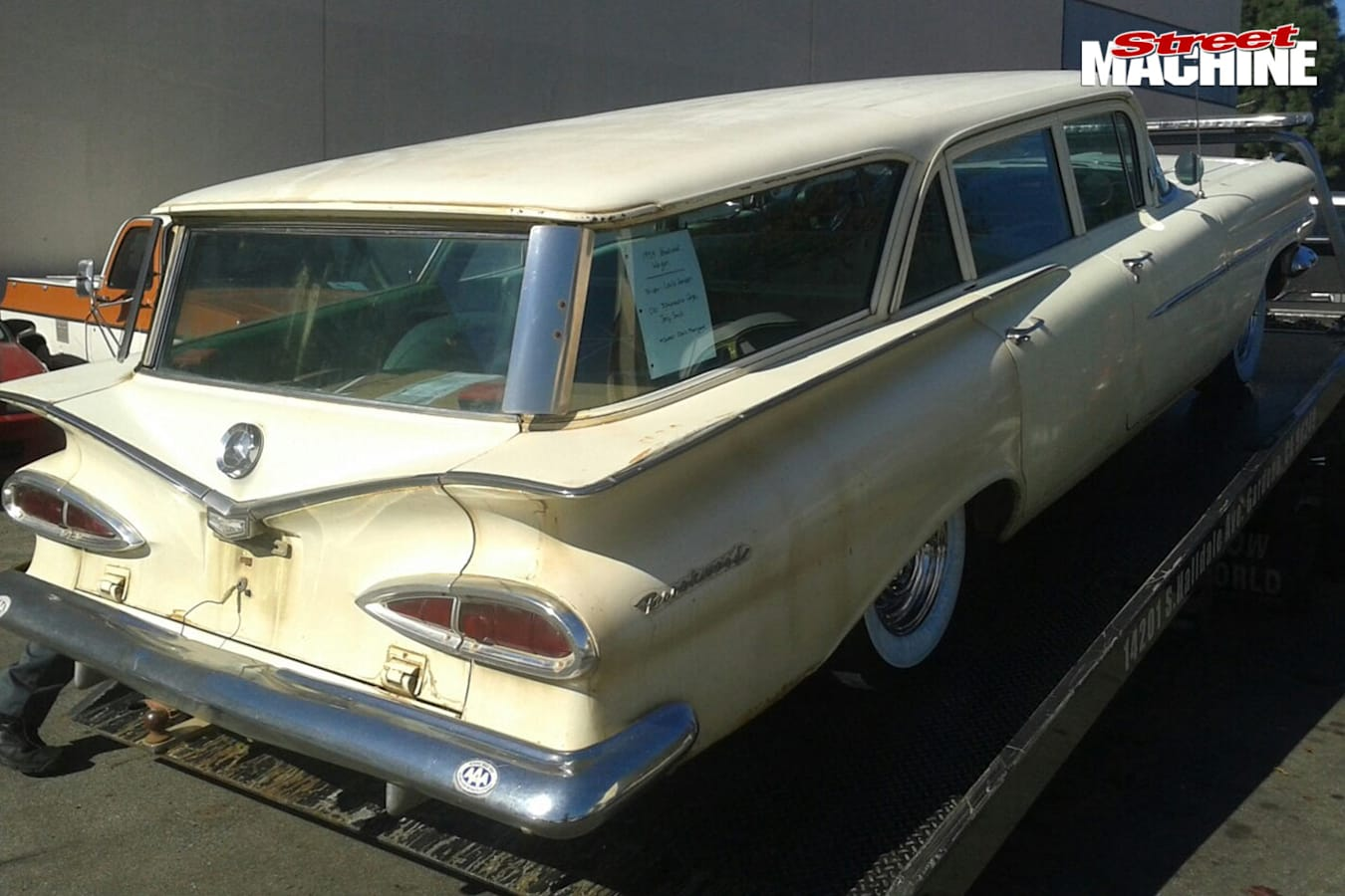 Chev brookwood wagon rear
