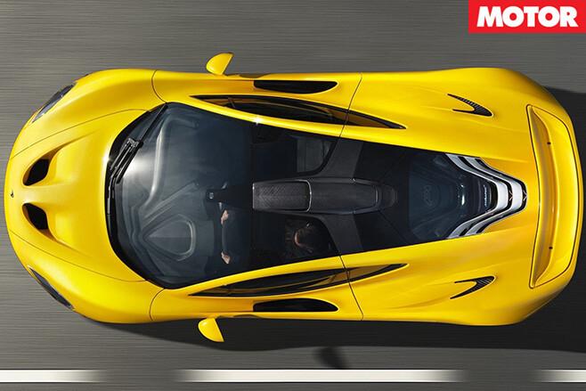 McLaren P1 2014 driving