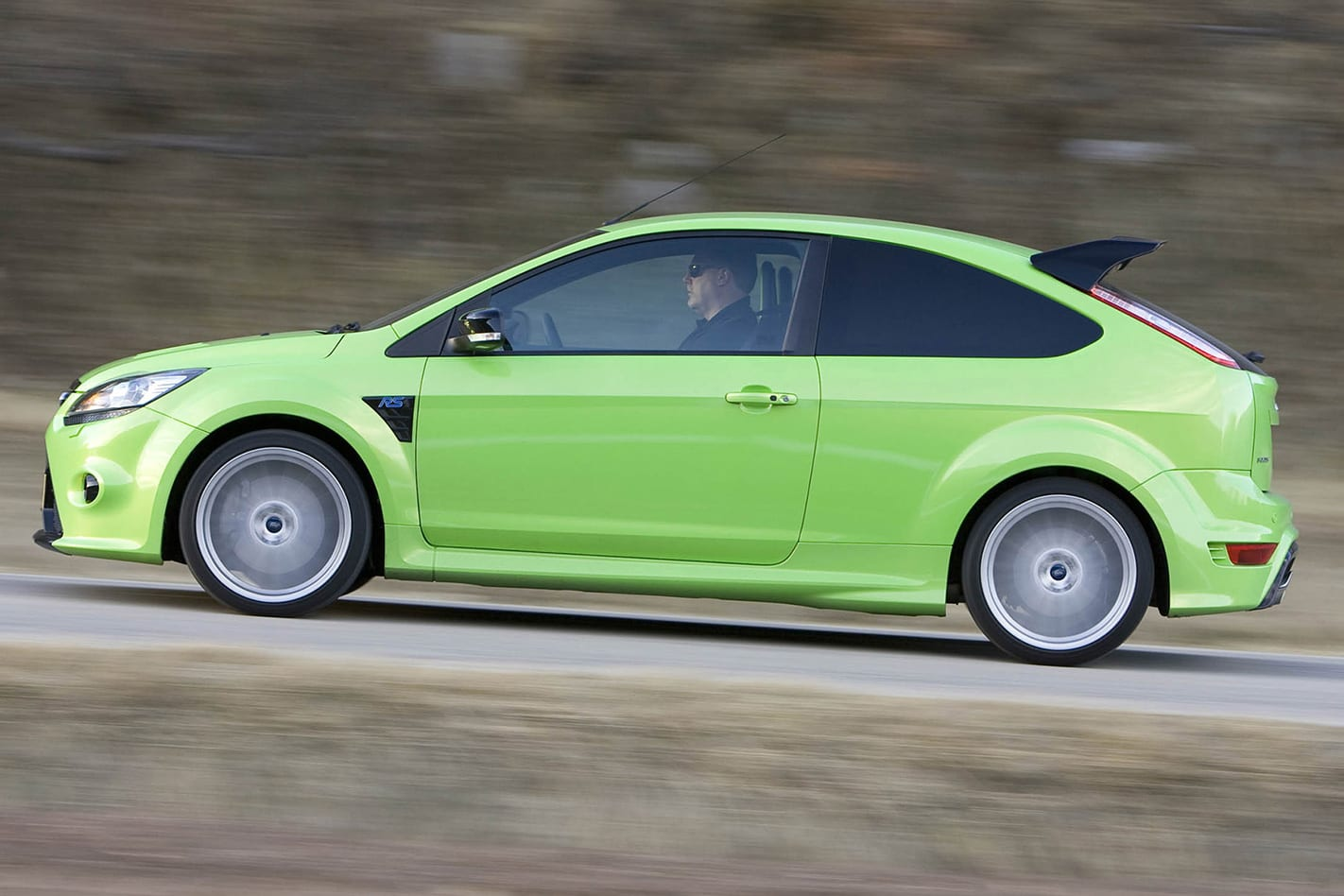 2008 Ford Focus RS drive