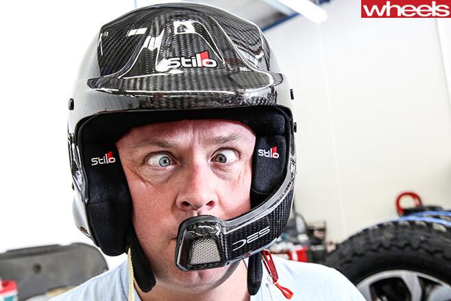 Toby -Hagon -Helmet -Mazda -BT-50