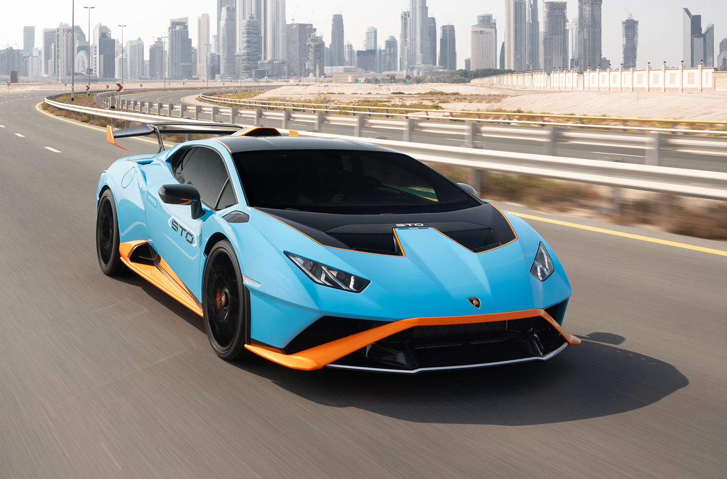 Five things you didn't know about the Lamborghini Huracan STO