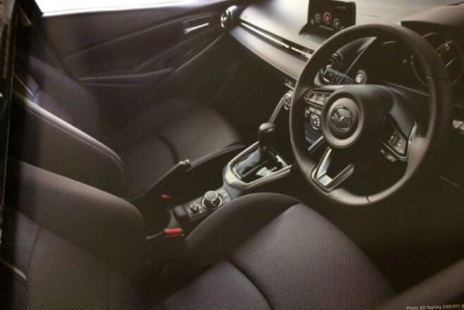 2017 Mazda 2 interior