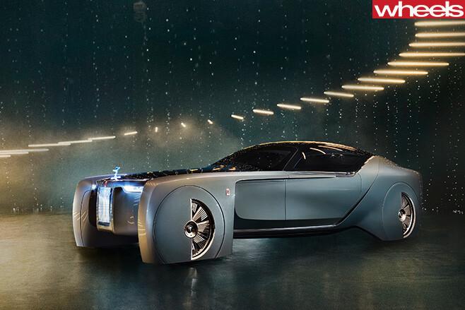 Rolls -Royce -concept -top -side