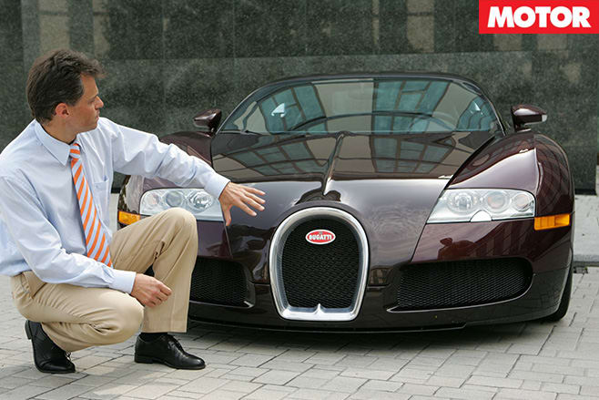 Bugatti Veyron front