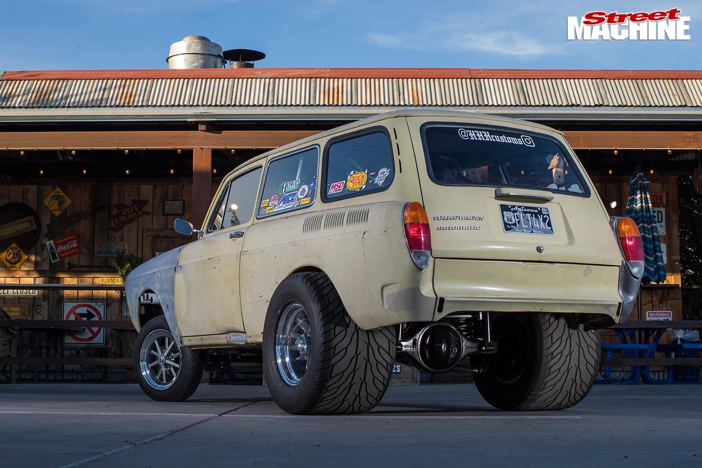 VW gasser rear