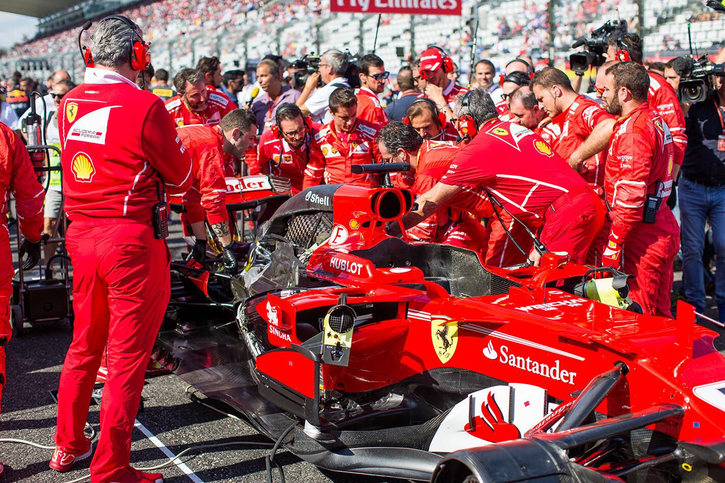 Vettel engine trouble Japan Grand Prix