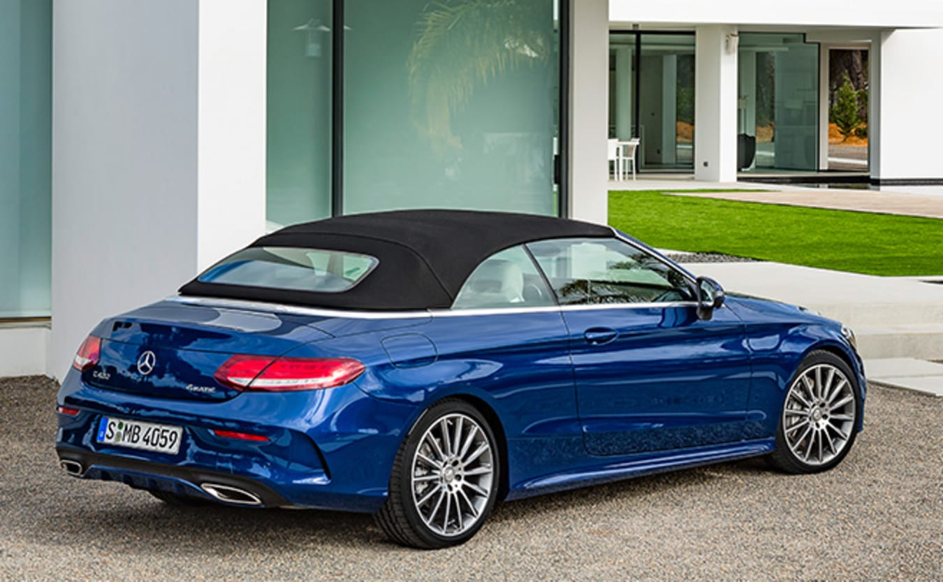 Mercedes C-Class Cabrio Rear Side
