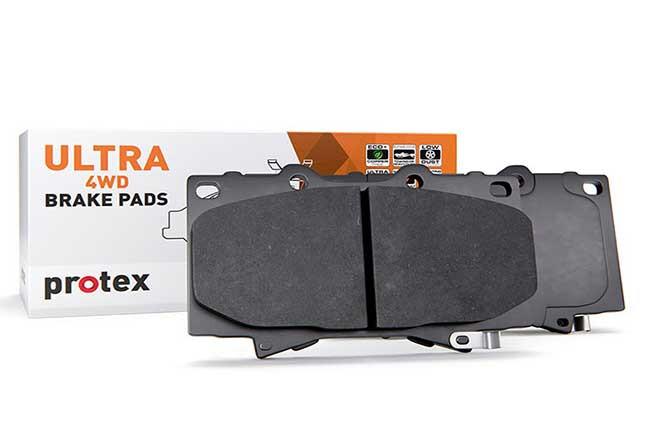 Protex brake pads for the Ranger