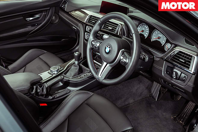 BMW M3 Competition Package interior