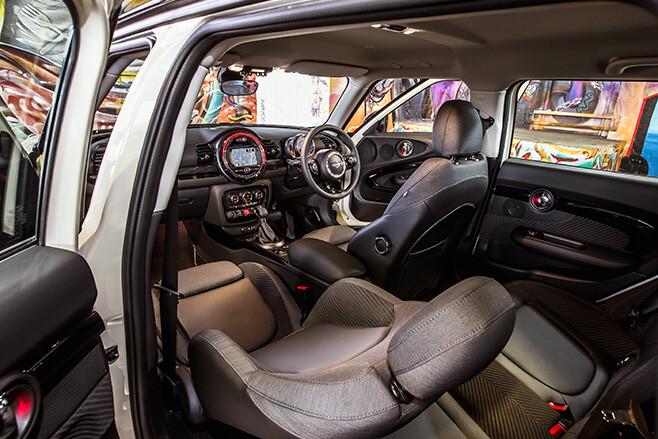 Mini -Clubman -interior