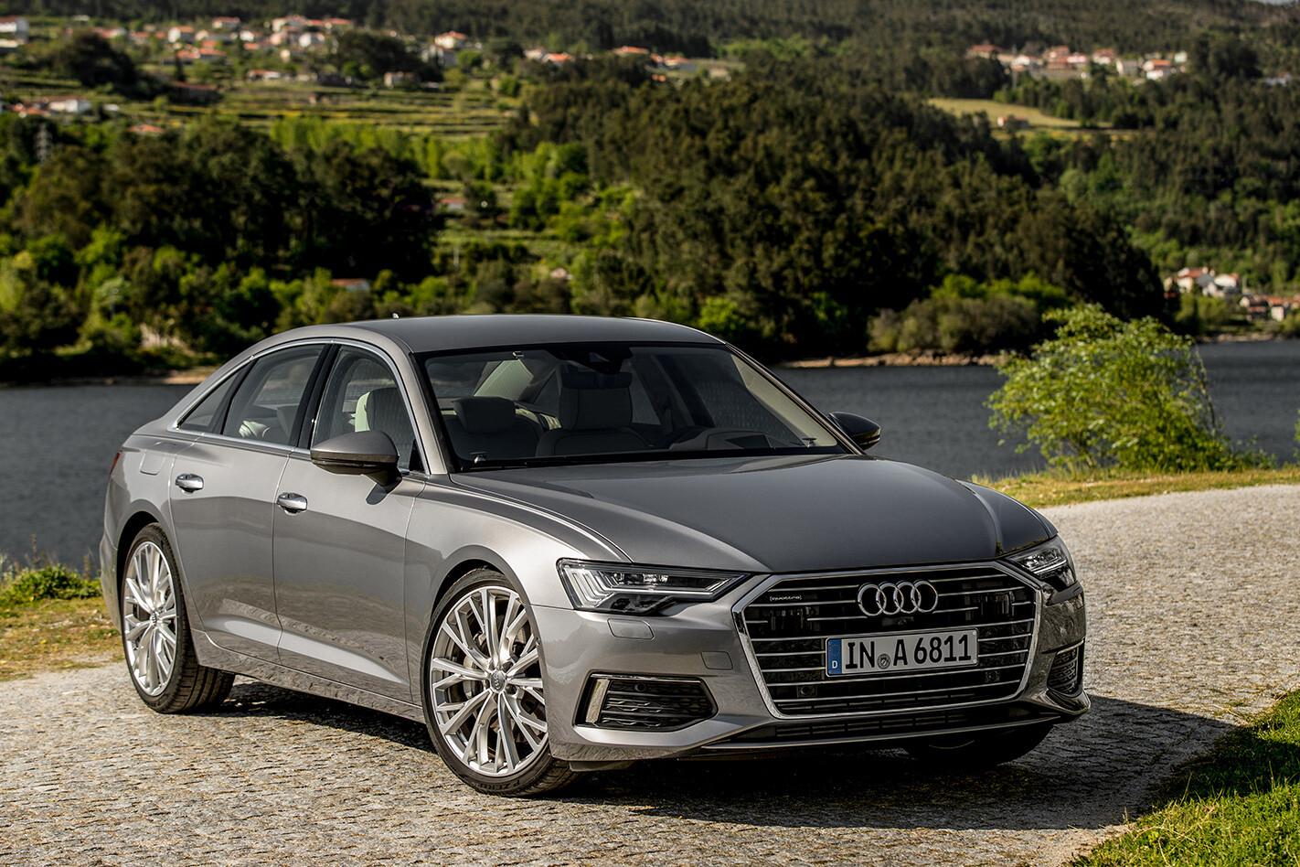 Audi A 6 Front Qtr Jpg