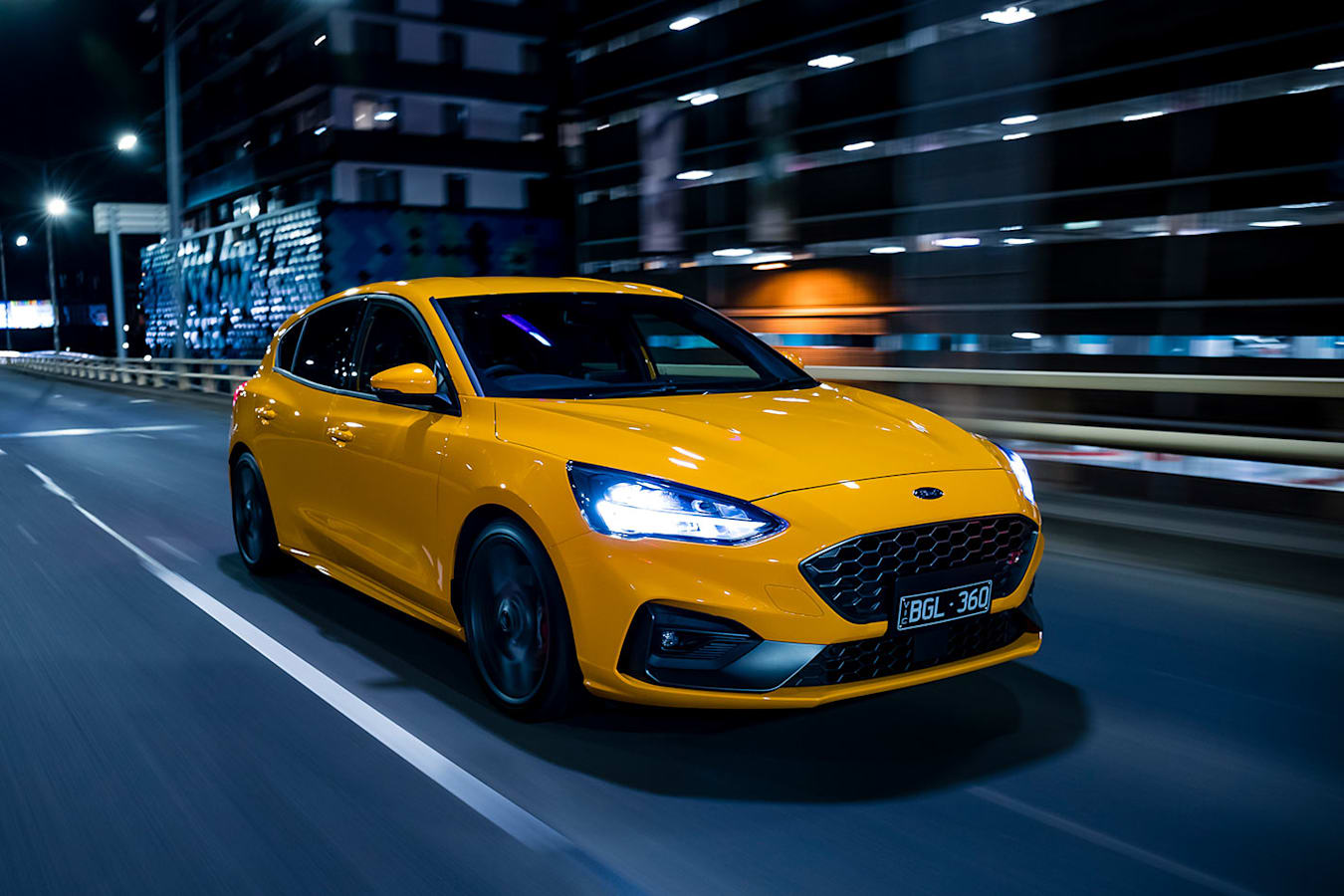 ford focus st onroad
