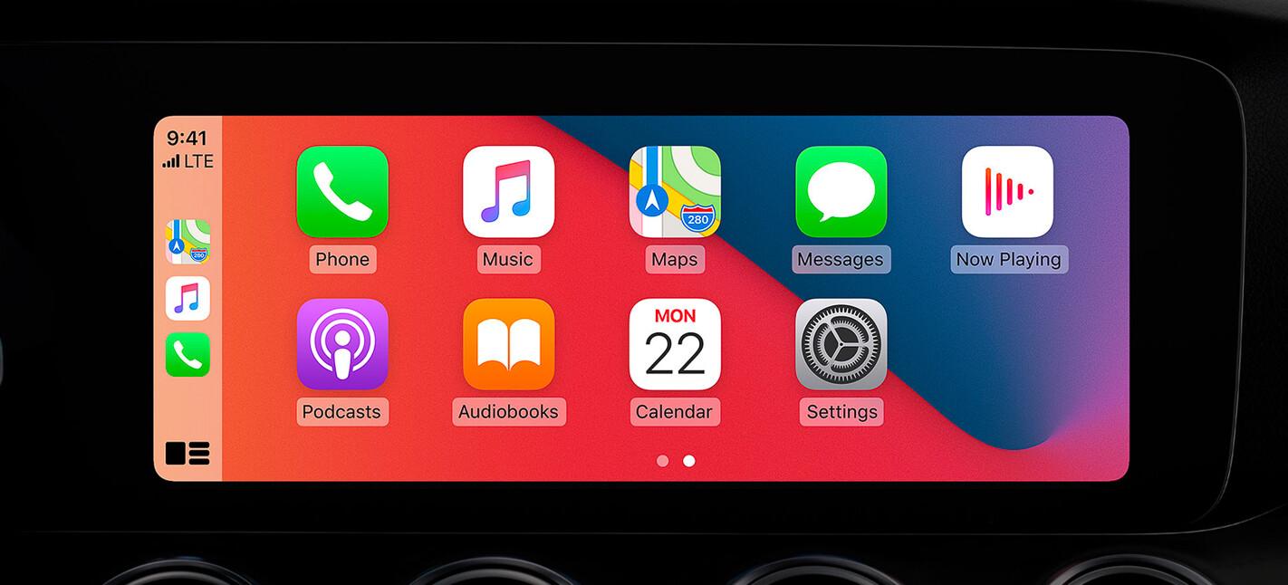 Apple iOS 14 screen