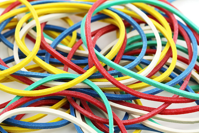 Coloured Rubber Bands Jpg