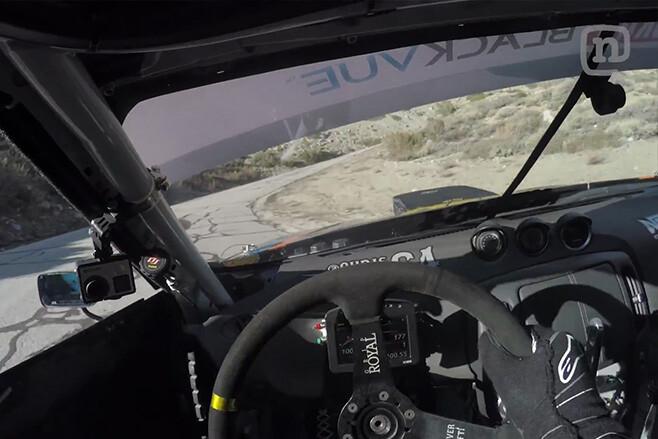 CHRIS FORSBERG V8 DRIFT interior