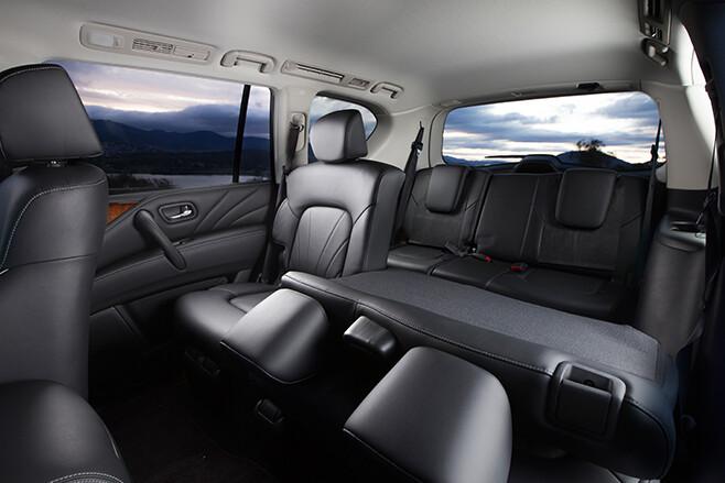Infinity -QX80-folded -seats