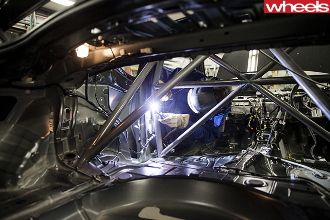Toyota -86-Race -Car -inside -stripped -out