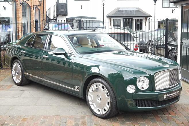2012 Bentley Mulsanne The Queen