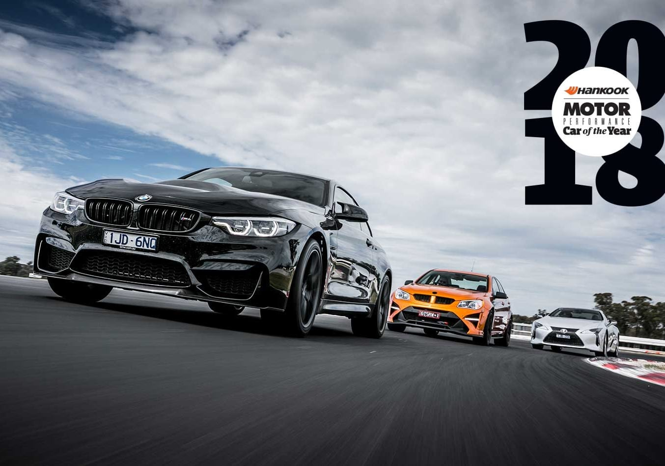 Performance Car of the Year 2018 Track Test feature